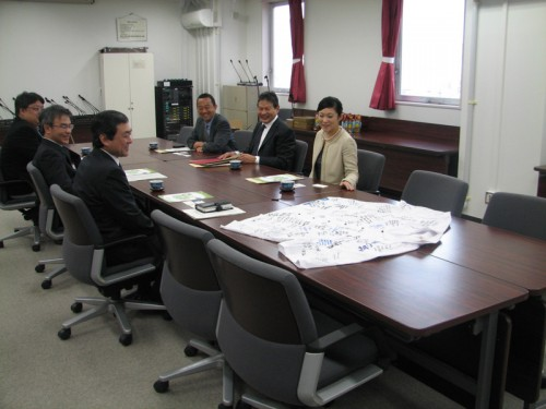 Meeting with Tohoku Officials 2